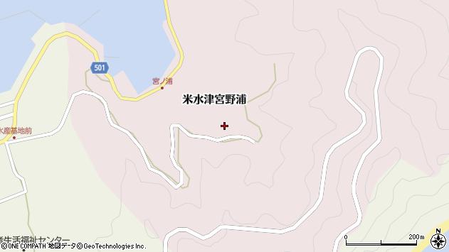 大分県佐伯市米水津大字宮野浦315周辺の地図