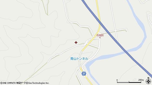 大分県佐伯市青山6725周辺の地図