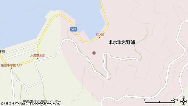 大分県佐伯市米水津大字宮野浦140周辺の地図