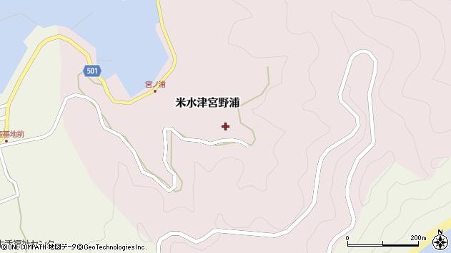 大分県佐伯市米水津大字宮野浦313周辺の地図