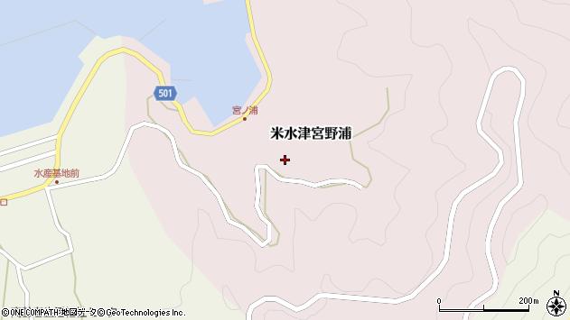 大分県佐伯市米水津大字宮野浦182周辺の地図