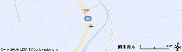 大分県佐伯市直川大字赤木536周辺の地図