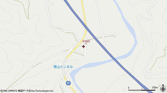大分県佐伯市青山6809周辺の地図