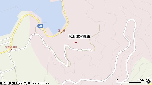 大分県佐伯市米水津大字宮野浦328周辺の地図