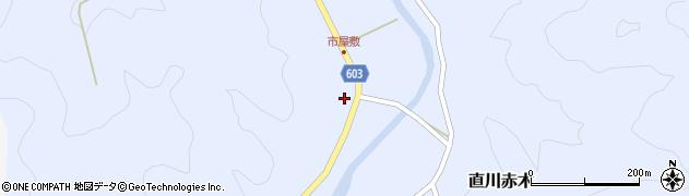 大分県佐伯市直川大字赤木540周辺の地図