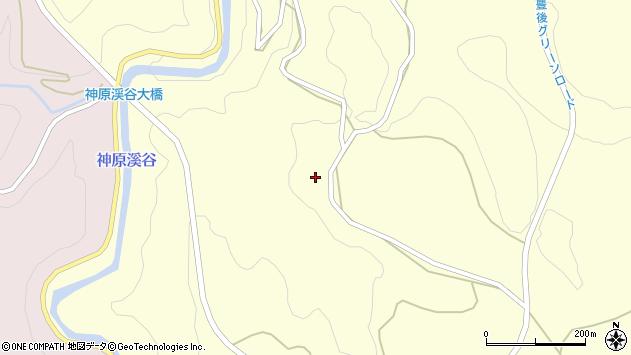 大分県竹田市神原430周辺の地図