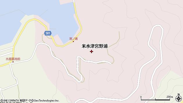 大分県佐伯市米水津大字宮野浦330周辺の地図