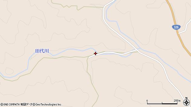 大分県佐伯市宇目大字小野市159周辺の地図