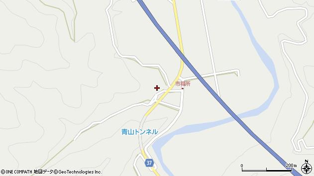 大分県佐伯市青山6686周辺の地図