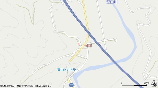 大分県佐伯市青山6655周辺の地図