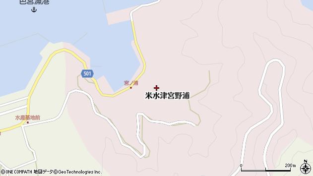 大分県佐伯市米水津大字宮野浦367周辺の地図