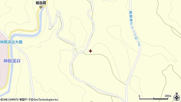 大分県竹田市神原606周辺の地図