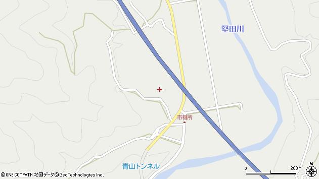 大分県佐伯市青山6637周辺の地図