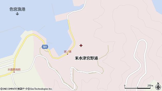 大分県佐伯市米水津大字宮野浦625周辺の地図