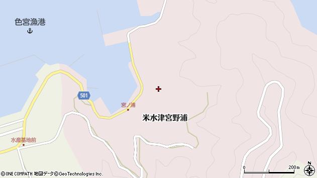 大分県佐伯市米水津大字宮野浦620周辺の地図