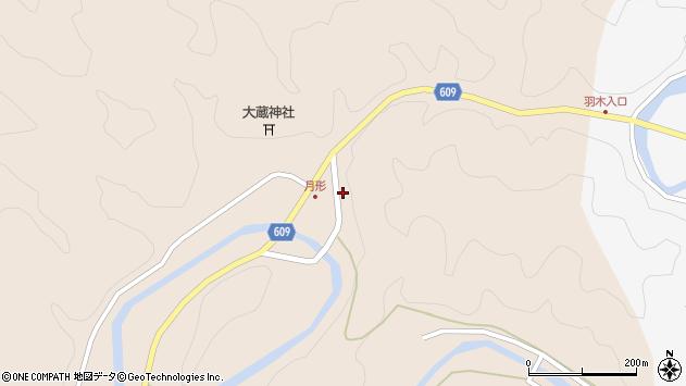 大分県佐伯市直川大字横川370周辺の地図