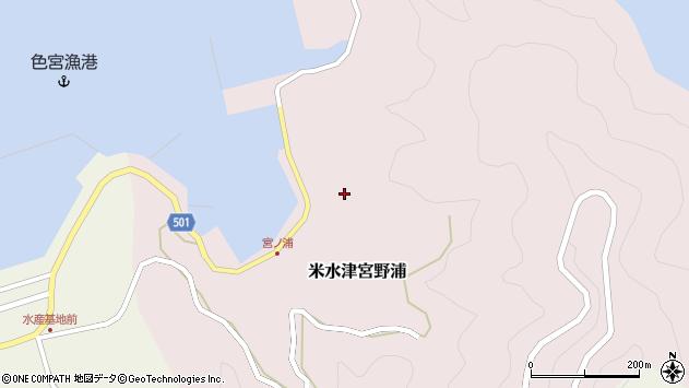大分県佐伯市米水津大字宮野浦618周辺の地図