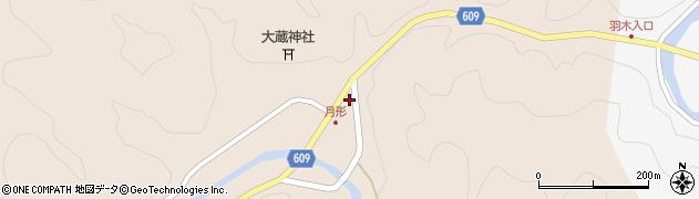 大分県佐伯市直川大字横川485周辺の地図