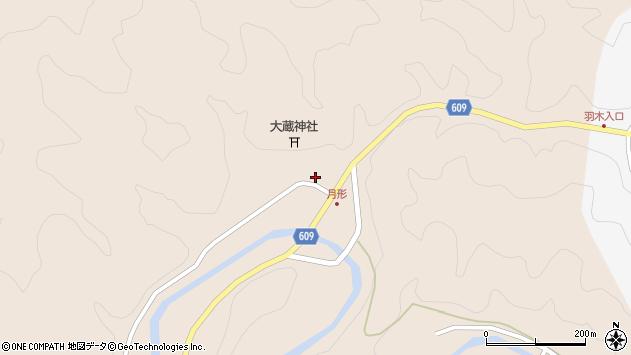 大分県佐伯市直川大字横川526周辺の地図