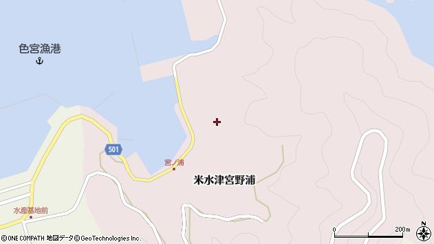 大分県佐伯市米水津大字宮野浦664周辺の地図