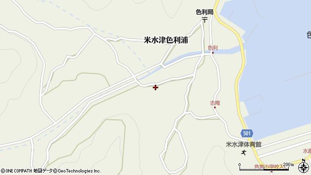大分県佐伯市米水津大字色利浦1200周辺の地図
