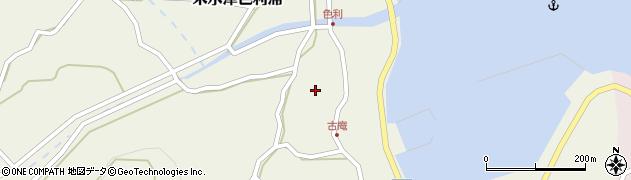 大分県佐伯市米水津大字色利浦1306周辺の地図