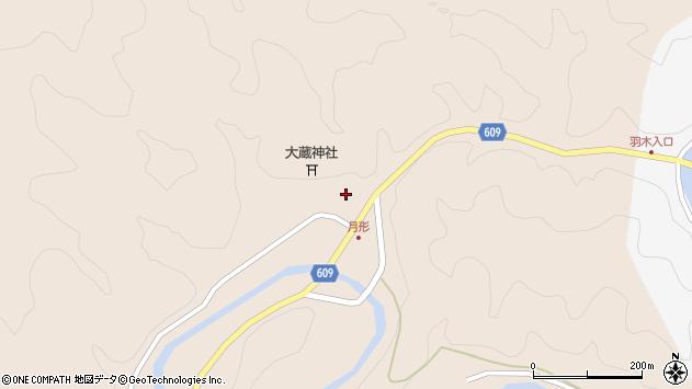 大分県佐伯市直川大字横川568周辺の地図