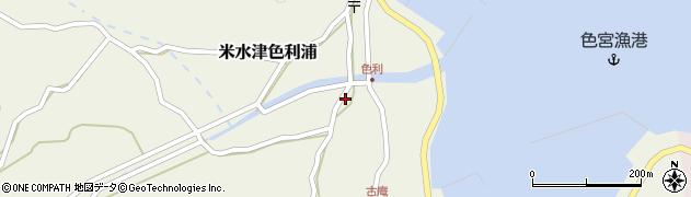 大分県佐伯市米水津大字色利浦1263周辺の地図