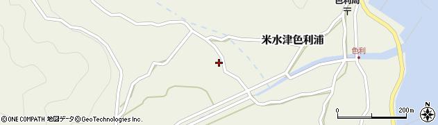 大分県佐伯市米水津大字色利浦785周辺の地図