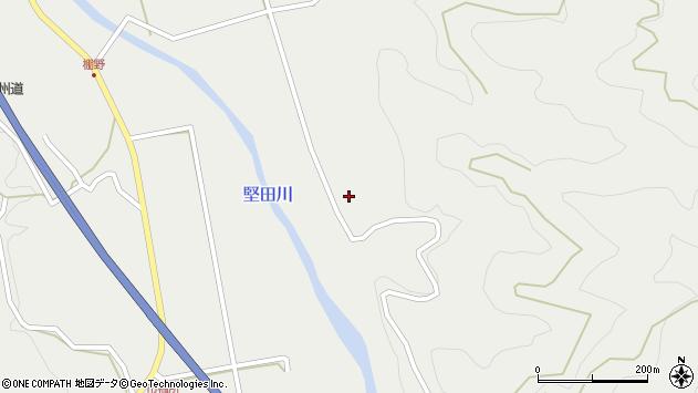 大分県佐伯市青山7282周辺の地図