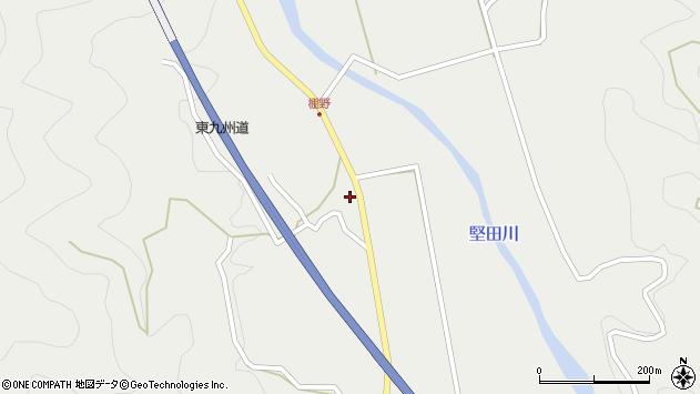 大分県佐伯市青山6803周辺の地図