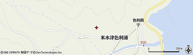 大分県佐伯市米水津大字色利浦522周辺の地図
