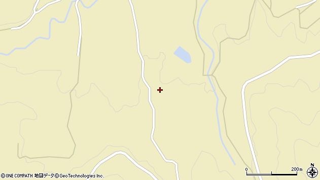 大分県竹田市倉木1773周辺の地図