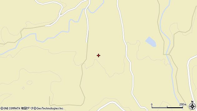 大分県竹田市倉木1886周辺の地図