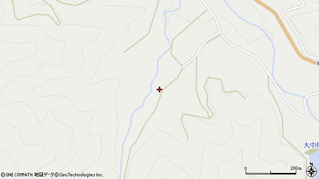大分県佐伯市木立2451周辺の地図