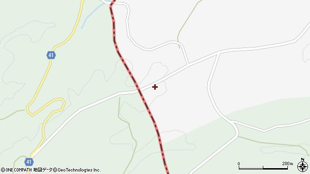 大分県竹田市荻町叶野773周辺の地図