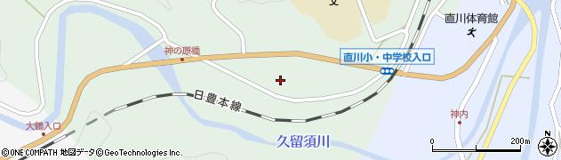 大分県佐伯市直川大字上直見384周辺の地図