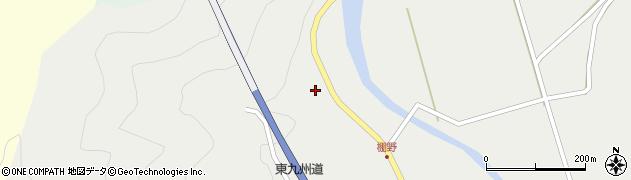 大分県佐伯市青山7735周辺の地図