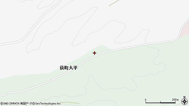大分県竹田市荻町大平800周辺の地図