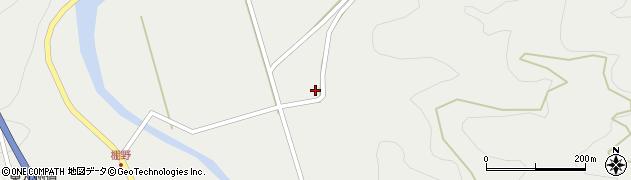 大分県佐伯市青山周辺の地図