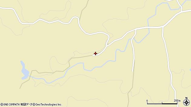 大分県竹田市倉木649周辺の地図