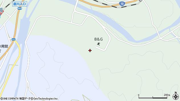 大分県佐伯市直川大字上直見3757周辺の地図
