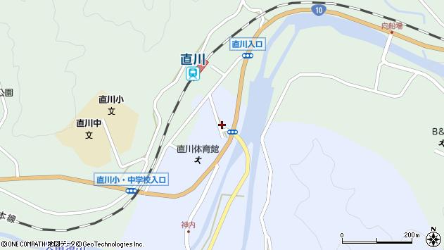 大分県佐伯市直川大字赤木19周辺の地図