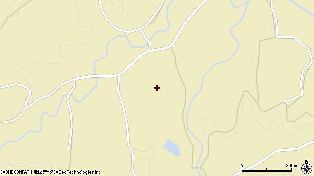 大分県竹田市倉木1676周辺の地図