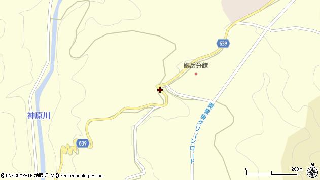 大分県竹田市神原139周辺の地図
