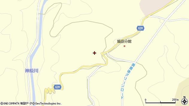 大分県竹田市神原48周辺の地図