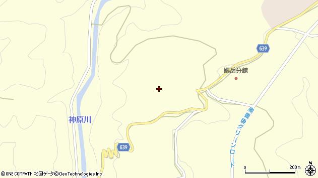 大分県竹田市神原106周辺の地図