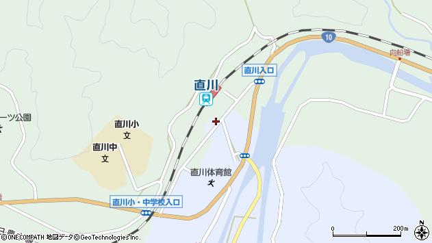 大分県佐伯市直川大字赤木25周辺の地図