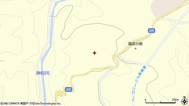 大分県竹田市神原127周辺の地図