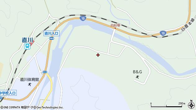 大分県佐伯市直川大字上直見3913周辺の地図